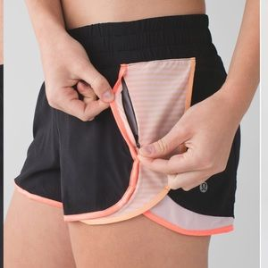 Lululemon Super Squad Short Black peach